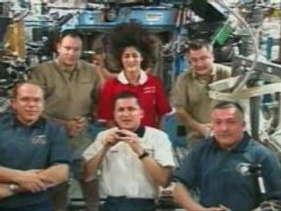 Space tourist Charles Simonyi feels onboard ISS at home