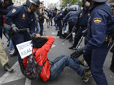 Police protection or citizen censorship? Spain to ban photos and videos of cops