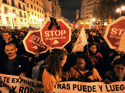 'Homicide not suicide': Spain facing 'humanitarian' crisis over evictions