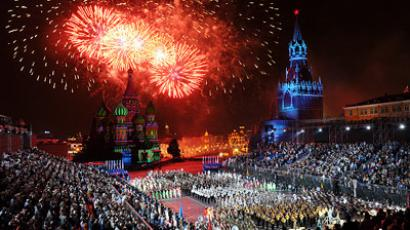 Red, and every other color: International orchestras meet in Moscow (VIDEO, PHOTOS)