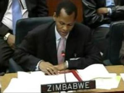 Spat at UN over Zimbabwe