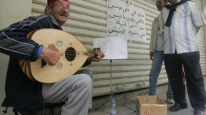 For some, music has become the ultimate means of protest in the Arab world (AFP Photo / Joseph Barrak)