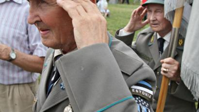 Estonia war games: 'Proud' memory of Nazi collaboration