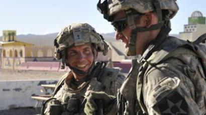 Staff Sgt. Robert Bales, (L) 1st platoon sergeant, Blackhorse Company, 2nd Battalion, 3rd Infantry Regiment, 3rd Stryker Brigade Combat Team, 2nd Infantry Division. (Reuters / Department of Defense / Spc. Ryan Hallock / Handout)
