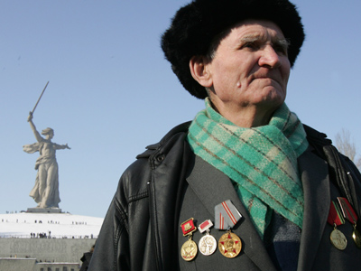 Stalingrad returns to Russia's map to mark celebrations