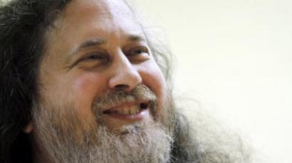 Richard Stallman (AFP Photo / Francois Guillot)
