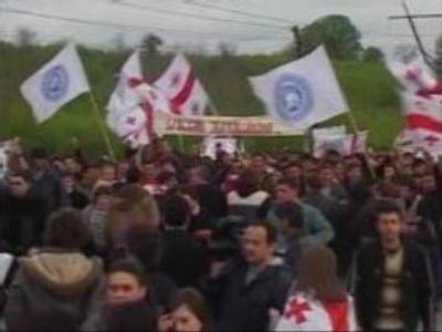 Students demand release of Georgians arrested in Abkhazia