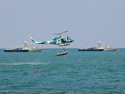 Iranian Navy and Marine Exercises at Nowshahr, October 6, 2009 (Image from uskowioniran.com)