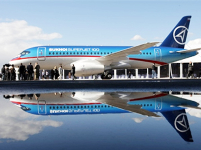 Superjet-100 order book hikes by 50%
