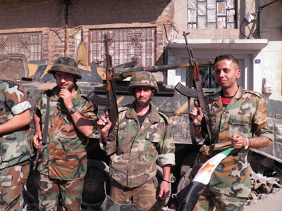 Seize the ceasefire: Syrian rebels bask in new guns