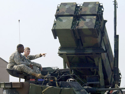 Patriot missile PAC-3 system (AFP Photo/Jung Yeon-Je)