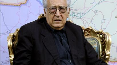 Lakhdar Brahimi (AFP Photo / Atta Kenare)