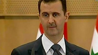Bashar al-Assad (AFP Photo / Syrian TV)