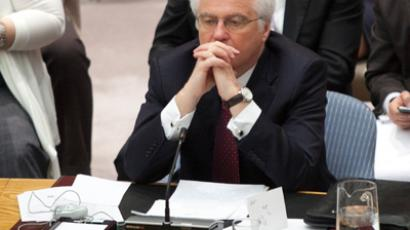 Vitaly Churkin (Reuters / Allison Joyce)