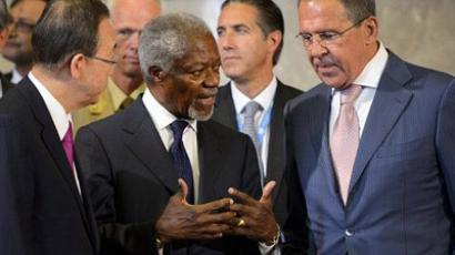 Annan to Syrians: Cease fire or face consequences