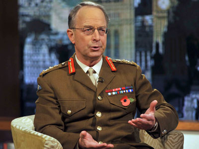 Britain's Chief of the Defence Staff General David Richards.(Reuters / Handout)