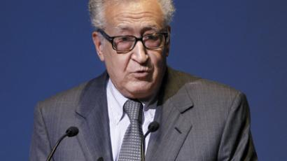 Lakhdar Brahimi (AFP Photo / Patrick Kovarik)