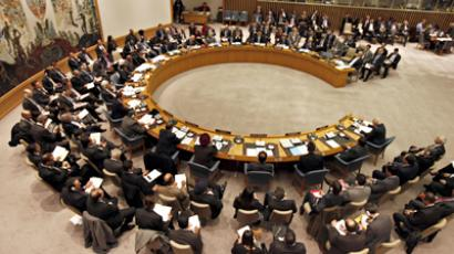United Nations Security Council meets at U.N. headquarters in New York January 31 (Reuters / Mike Segar)