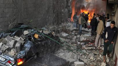 Syrian rebels kill 9 students in attack on school near Damascus