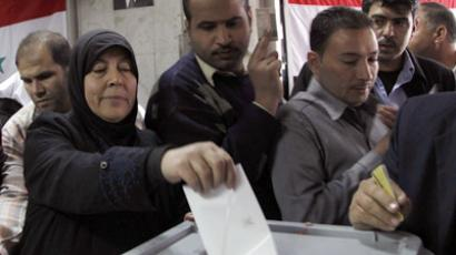 Syria votes despite opposition boycott