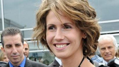 Syrian President Bashar al-Assad's wife Asma al-Assad (AFP Photo / Miguel Medina)