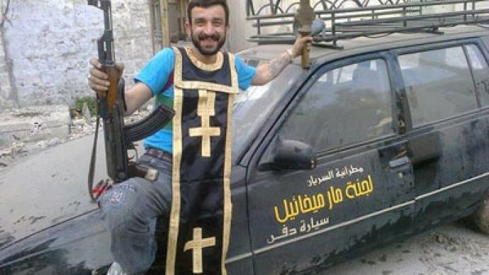 Are not Christians being beheaded in syria can