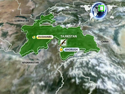 Dozens dead as govt forces clash with guerillas in remote Tajikistan