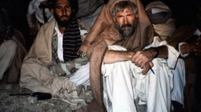 Jere Van Dyk during his imprisonment by the Taliban (Photo courtesy Jere Van Dyk)