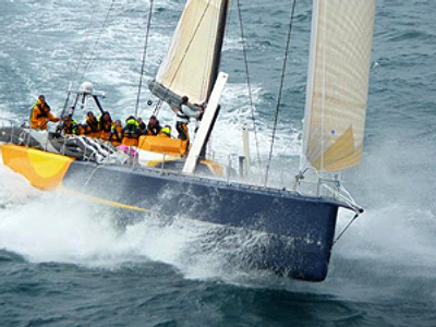 Team Russia returns to finish Volvo Ocean Race