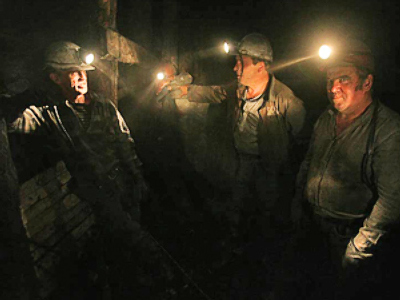 Ten missing after Ukraine mine blast