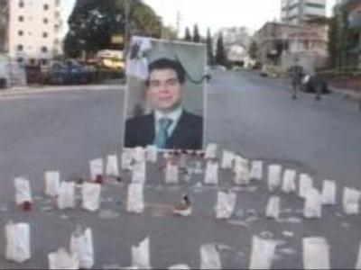 Thousands of mourners flood into Beirut