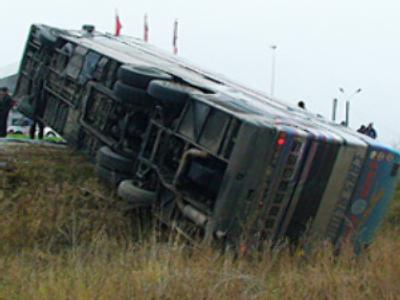 Three dead in the tourist bus turnover in Smolensk