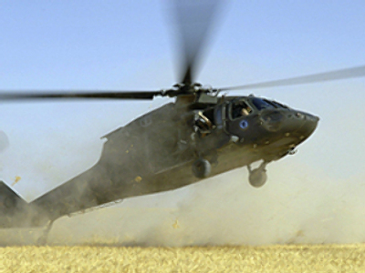 Three killed in a helicopter crash