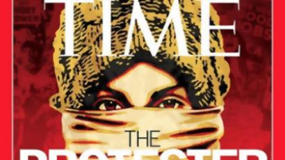 Time names 'Protester' person of the year