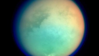 Cassini's View of Titan (Photo from nasa.gov)