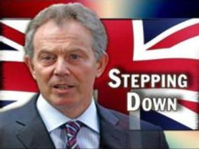 Tony Blair to resign