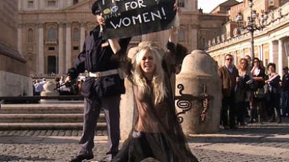 Femen demands freedom