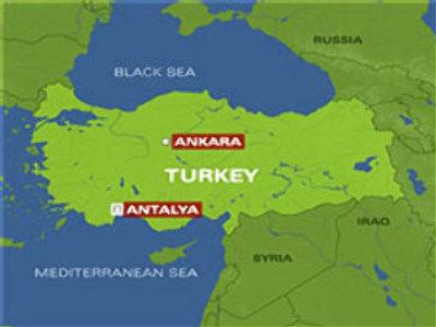 Tourist bus crashes in Turkey