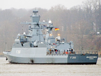 Danger down below deck! Toxic gas found on new German warships