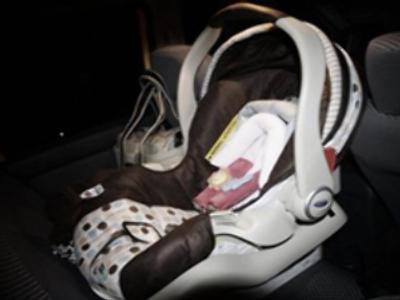 Tragic mum's baby suffocates in car