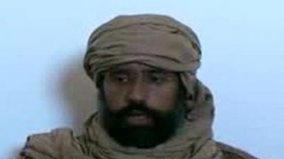An image grab taken from a video released by the Zintan Media Centre on November 20, 2011 shows Seif al-Islam, the captured son of killed Libyan leader Moamer Kadhafi, making a statement in Zintan following his arrest (AFP Photo)