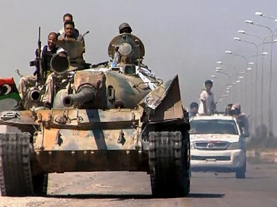 Rebels capture key military base near Tripoli