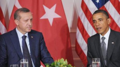 Barack Obama and Recep Tayyip Erdogan (AFP Photo / Mandel Ngan)