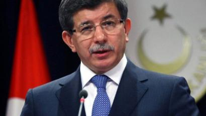 Ahmet Davutoglu (AFP Photo / Adem Altan)