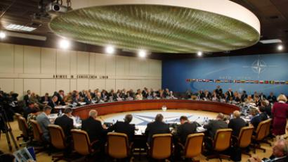 The meeting of the North Atlantic Council of NATO (Reuters/Jason Reed)