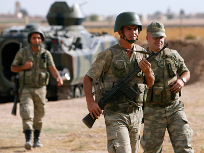 Shelling resumes at Turkish-Syrian border - reports