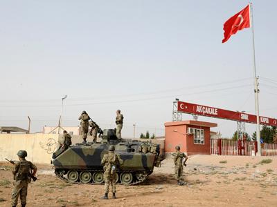 Turkey retaliates at Syria for a fifth day
