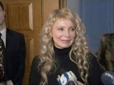 Tymoshenko changes hairstyle