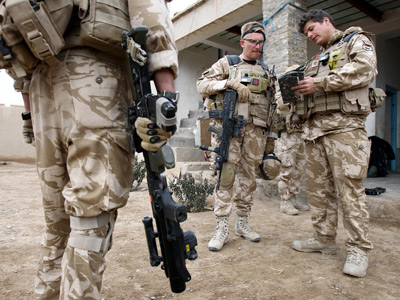 Troop withdrawal: 5,000 to be sacked in British Army austerity