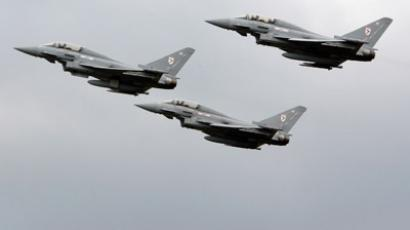 Eurofighter typhoon fighter jets (Reuters/Darren Staples)